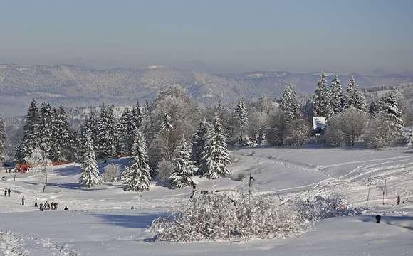 The Bruche Valley in winter